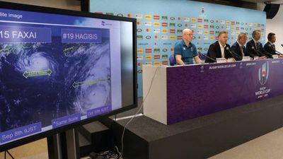 Hagibis detiene el mundial de Rugby
