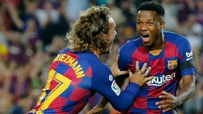 El joven prodigio Ansu Fati es convocado por España sub-21