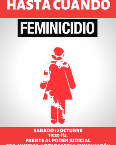Buscan concienciar sobre feminicidios