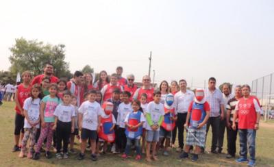 HOY / Sueño Olímpico, una actividad deportiva que llega a los niños de Capiatá
