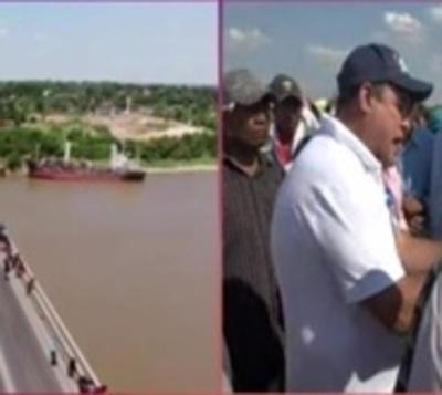 Fiscalía ordena despeje de Puente Remanso