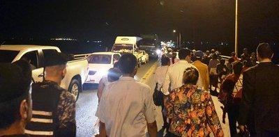 Presidenta del INDI presentó renuncia y se despeja bloqueo en el Puente Remanso