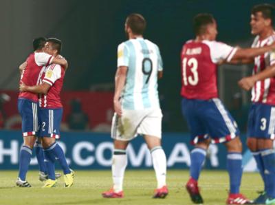 Paraguay vence a Argentina en Córdoba, un día como hoy de 2016