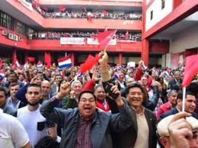 Colorados anuncian una gran movilización para defender gobierno de Mario Abdo
