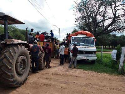Sigue llegando asistencia para gente del Chaco