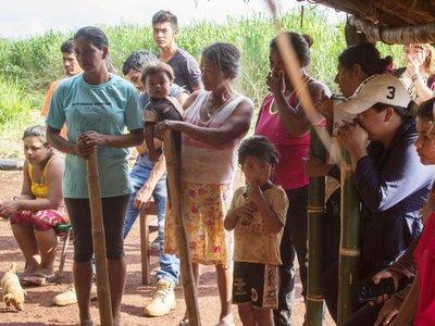 Presionan a Itaipú para que dé una respuesta a indígenas en reclamo