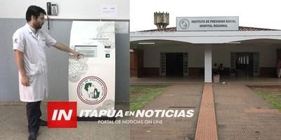 HABILITAN TERMINAL DE AUTOSERVICIO PARA EL HOSPITAL DE IPS