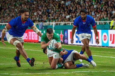 Irlanda vence a Samoa y lidera provisionalmente su grupo