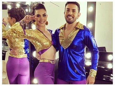 Paloma volvió a bailar luego de su grave lesión
