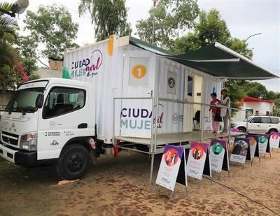 Mujeres de Canindeyú se beneficiarán con una amplia gama de servicios