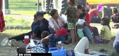 Nativos piden agua potable, electricidad y acceso a salud