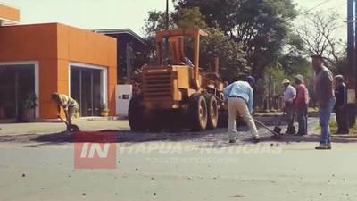 CNEL. BOGADO: 150 CUADRAS DE ASFALTADO DURANTE LA ADMINISTRACIÓN DE CÉSPEDES