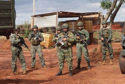 """""""El día a día es un riesgo"""", sostienen soldados de la FTC en el Norte"""