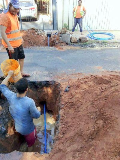 ESSAP realizará mantenimiento a tuberías de red cloacal