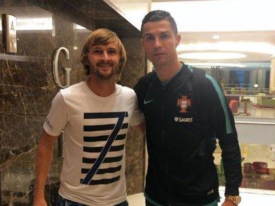 El emotivo relato de Walter Clar al conocer a Cristiano Ronaldo