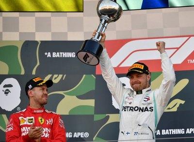 Bottas gana y Mercedes logra su 6º título consecutivo de constructores