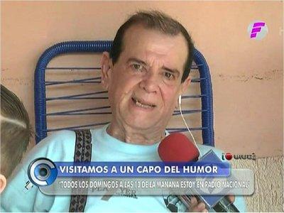 Carlitos Vera pide aumento de pensión para costear tratamientos