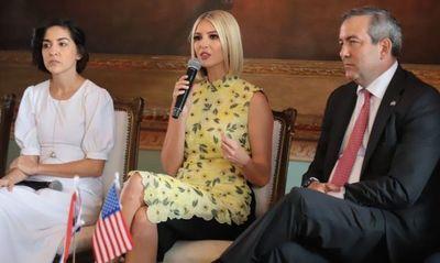 Hija del presidente  Trump promete inversión de Gs 3. 600 millones para sectores pobres