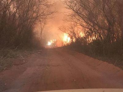 Senado declara emergencia para departamentos de la región Occidental por los intensos incendios