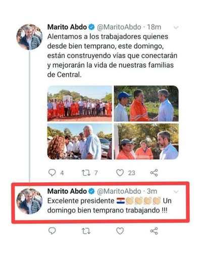 Despiste del CM de Marito lo deja en ridículo