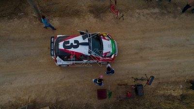 'Ale' Galanti es tetracampéon del Rally del Chaco
