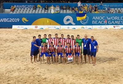 Paraguay supera a Ucrania con remontada