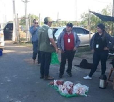 Transchaco Rally: Hallan animales silvestres faenados