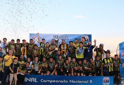 Guaraní de Trinidad (Itapúa) es campeón del Nacional B