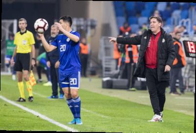 Eduardo Berizzo se siente satisfecho tras los amistosos de Paraguay