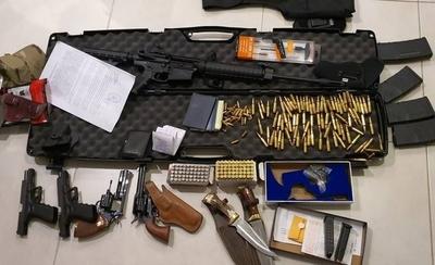 HOY / Caen jefe narco brasileño en zona Villa Morra y un paraguayo en Pedro Juan Caballero