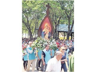 Fiesta patronal en honor a la Virgen de Schoenstatt