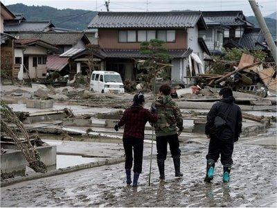Japón busca supervivientes tras paso del tifón Hagibis