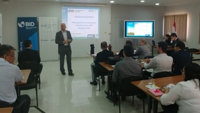 Instruyen a funcionarios en el uso y aplicación de la plataforma SOURCE