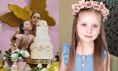 Gabi Wolscham celebró los 4 añitos de su hija Paula