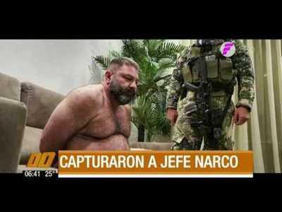 Capturan a jefe narco en pleno Villa Morra