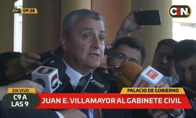 Villamayor deja Interior para ocuparse del Gabinete de Abdo Benítez