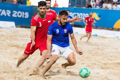 Los Pynandi caen en reñido partido y quedan fuera de los Juegos Mundiales de Playa