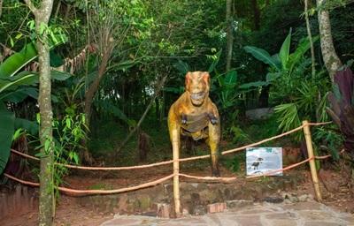 Caaguazú tiene su propio parque jurásico