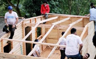 Techo llama a voluntarios para la construcción mas grande del año