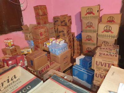 Fiscalía incauta toneladas de productos de contrabando