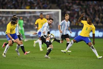 Brasil jugará contra Argentina, en Riad, el 15 de noviembre