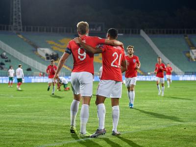 Inglaterra encamina su clasificación con goleada sobre Bulgaria