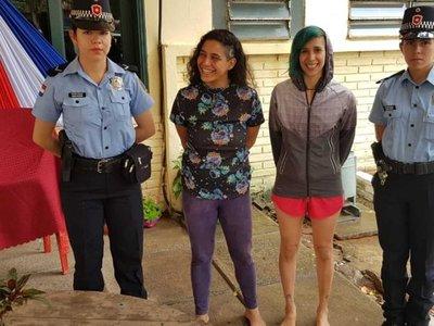 Apresan a dos mujeres por entrar a la jaula de la elefanta Maia