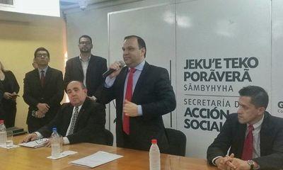Ministro Mario Varela confirma despidos en la cartera de Desarrollo Social