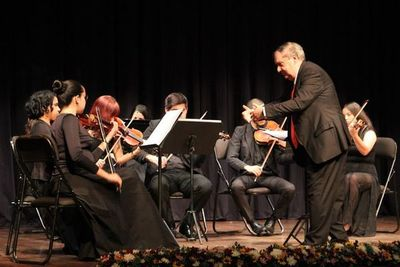 Orquesta Juvenil del CCPA celebra a Gilardi