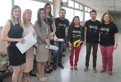 Acción  por marchas LGTBI