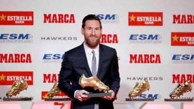 HOY / Messi recibirá mañana su sexta Bota de Oro, como máximo goleador en Europa