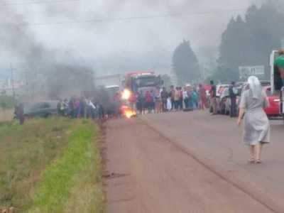 Niño resulta herido durante despeje de ruta en Pedro Juan Caballero