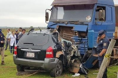 Grave accidente se cobra una vida en Guaira