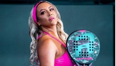 Laura Brizuela ganó un torneo de pádel